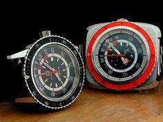 Favre Leuba Bathy Vintage Dive Watches, Favre Leuba, Wooden Watches For Men, Cool Watches, Men's Watches, Vintage Men, Omega Watch, Mens Fashion, Jewels