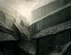 — Gray city by Gloom82 on deviantART