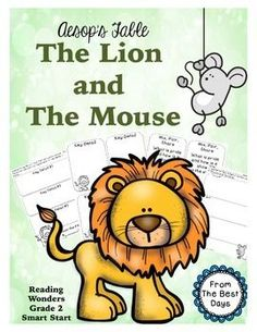 The Lion and the MouseThis Print and Go activity is everything you need to complete fun, hands on, student centered activities with The Lion and the Mouse.  Pages Include:Find the Fiction Key Detail ActivityFan-n-Pick Key Detail Activity where the students fill in the key details before performing the taskA Venn Diagram to compare and contrast two versions of the storyMix, Pair, Share Question Cards (5 different questions)A great way to start out the Wonders Reading Smart Start for 2nd…