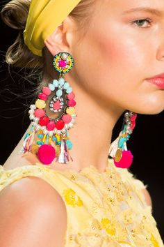 Naeem Khan at New York Fashion Week Spring 2016 - Details Runway Photos