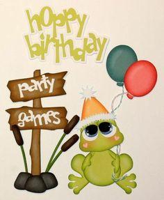 paper piecing birthday | ... PMBY JULIE Child birthday paper piecing 4 Scrapbook Pages Album
