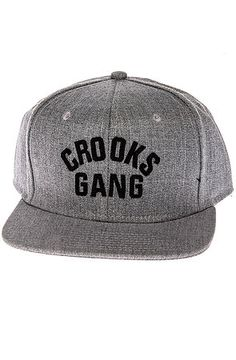 The Mobbin Snapback Hat in Speckle Grey by Crooks and Castles use rep code: OLIVE for 20% off!