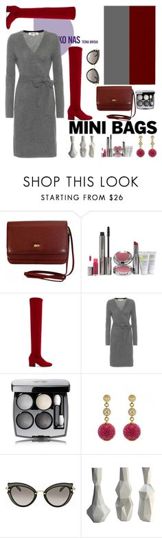 """Mini bags"" by nefertiti1373 on Polyvore featuring Juice Beauty, Dorateymur, Diane Von Furstenberg, Chanel, Latelita, Miu Miu and minibags"