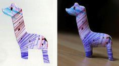 3D print your kids drawings