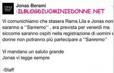 Niente Sanremo per la coppia di Uomini e donne Rama Lila Giustini e Jonas Berami ecco spiegato il vero motivo della mancata partecipazione