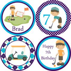 BIRTHDAY TAGS printables