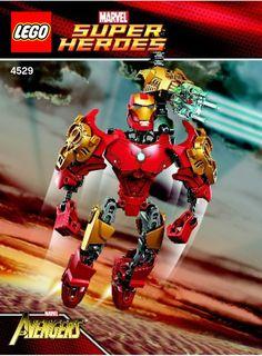 Marvel Super Heros - Iron Man [Lego 4529]