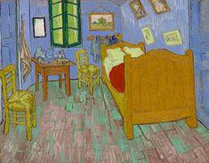 Cômodo imita o quarto em Arles, na França, retratado pelo pintor holandês em uma série de três quadros