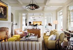 Traditional Living Room by Campion Platt and Ralph R. Mackin, Jr. in Hudson Valley, New York