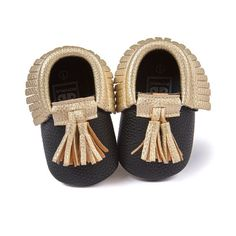 Sizes are as follows: Size 1: 0-6 Months Size 2: 7-12 Months Size 3: 13-18 Months Product Specifications: Item Type: Baby First Walkers Fashion Element: Fringe Closure Type: Slip-On Pattern Type: Soli