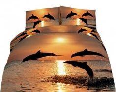 Swim With Dolphins Duvet Set