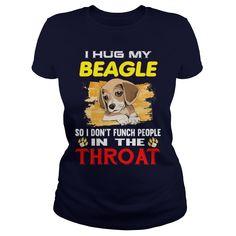I Hug My BEAGLE In The Throat