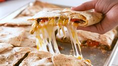 These Sheet Pan Quesadillas Are BrilliantDelishHack Alert! These Sheet Pan Quesadillas Are BrilliantDelish Mexican Dishes, Mexican Food Recipes, Beef Recipes, Dinner Recipes, Cooking Recipes, Recipies, Healthy Recipes, Beef Dishes, Food Dishes