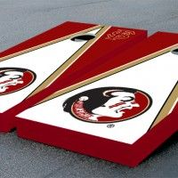 Florida State University - FSU - Seminoles cornhole set.  Many designs to chose from...