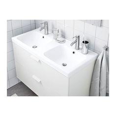 ODENSVIK Dupla mosdó - 100x49x6 cm, - - IKEA
