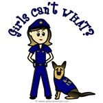 Captains, sergeants, detectives, K-9 police and law enforcement officers of all ages will love this arresting design. Makes a great gift!