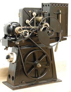 Antique Silent film 35mm Movie Theatre Projector cinema C Francis