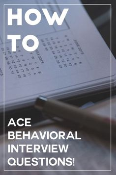 How to ace and answer behavioral interview questions.  Tips and tricks that will help you slow down and help land you your dream job! Making you more confident