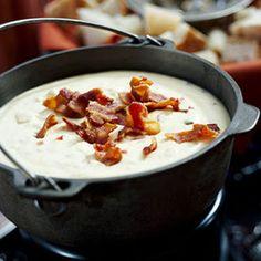 Jack Cheese and Smoky Chipotle Fondue - Recipe.com