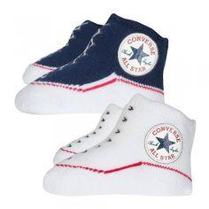 5c649f17a3d Converse Baby 2-er Geschenk-Set Socken navy weiß Converse