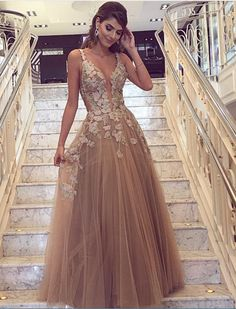 243 Best Champagne Color Dresses Images In 2019 Formal