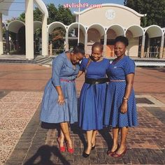 Trendy Shweshwe Dresses: Shweshwe form is a great deal of aback and substituting truly, obliteration is whenever dead, out or old. Seshoeshoe Dresses, Girls Dresses, African Wear, African Dress, Shweshwe Dresses, African Traditional Dresses, Dress Images, Dress Picture, African Fashion Dresses