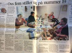 """Omtale om """"oss i Hordaland før utstillinga - Kvinners helse tips Parol, Bergen, Event Ticket, Om, Baseball Cards, Tips, Mountains, Lantern, Counseling"""