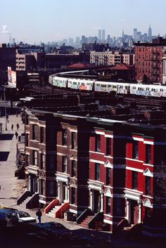 #Favorite Places#Travel@...# Camilo José Vergara - View South from Simpson Ave., South Bronx, 1989.