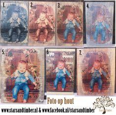 diverse foto's mogelijk  http://www.starsandtimber.nl/c-2545427/foto-op-hout/