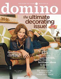 DOMINO APRIL 2008 COVER