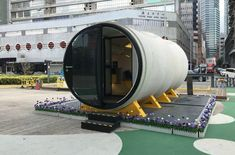 Tiny homes made of concrete pipes could be the next big thing in micro housing