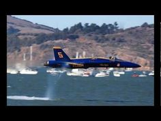 Great video explaining the sonic boom.  Awesome visual of sound waves at the end.