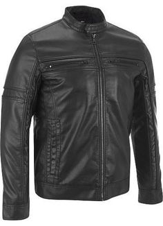 Men Leather Jacket Brand New 100% Genuine Soft Indian Lambskin Bomber Bike GF869 #Handmade #Motorcycle