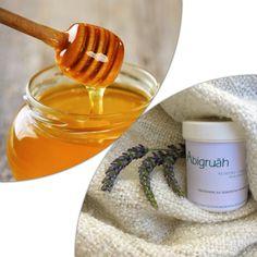 """Der in der Nachtcreme """"Abigruäh"""" enthaltene Honig wirkt reinigend und klärend auf die Haut und beruhigt diese sanft. Die Hautporen werden verfeinert und die milden im Honig enthaltenen Säuren stärken über Nacht den natürlichen Säureschutz der Haut.  Damit sich Ihre Haut morgens besonders zart und erhohlt anfühlt. Food, Natural Health, Honey, Cleaning, Eten, Meals, Diet"""
