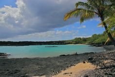 La Perousse Bay, Maui  Overnighted here on the way to Tahiti