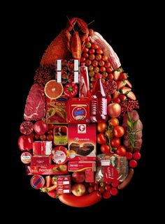 These pictures are created by Swedish Food Stylist Linda Lundgren for a Scandinavian supermarket, Hemköp. I really love it, I've never really seen a supermarket advertisement that was beautiful instead of screaming for costumers with all kind of lame slogans. -