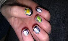 Nailed it! Kids fingernails!
