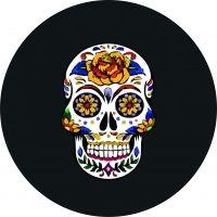 Sugar Skull Tire Cover