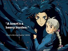 Howl's Moving Castle. I finally took the time to watch it and now it's my new favorite movie!!