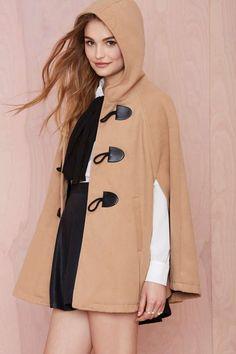 Nasty Gal English Nights Cape - Jackets + Coats | Coats | Jackets + Coats |  | Newly Added | Jackets + Coats