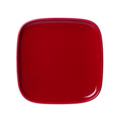 Marimekko Oiva Red Small Square Plate A smooth square surface with a shiny red finish; what will you put on the Marimekko Oiva Red Small Square Plate? Part of the Oiva dinnerware collection, keep it in the kitchen to hold butter, an espres. Square Plates, Scandinavian Living, Nordic Design, Marimekko, Beautiful Lights, Good Company, Scented Candles, A Table, Branding Design
