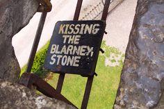 looks like fun. (Blarney Stone, Blarney Castle, Ireland)