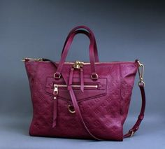 Louis Vuitton Embossed Monogram Empreinte Lumineuse PM Bag
