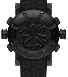 ROMAIN JEROME Deep Blue OCTOPUS 888FT - caseback - Perpetuelle