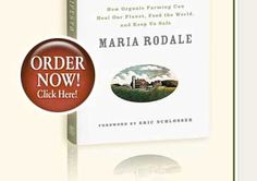 Maria Rodale's Organic Manifesto gets to the heart of the matter. How going Organic can help save the world.