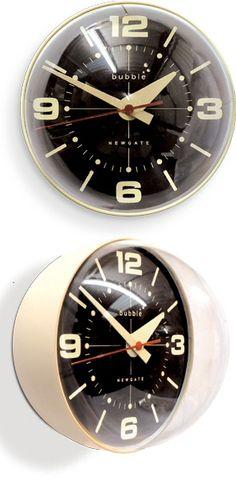 Retro Bubble Wall Clock