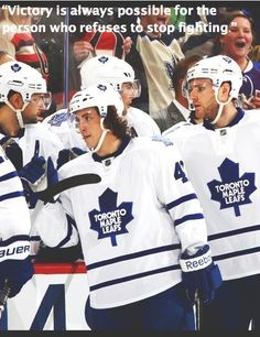 Toronto maple leafs have made the playoffs!