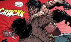 Today Batman Fights A Lion. And A Nightwing.