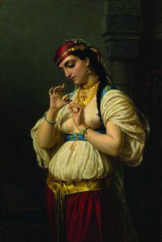 Kai Fine Art is an art website, shows painting and illustration works all over the world. Claude Joseph Vernet, Renaissance, Jean Leon, L'art Du Portrait, Egyptian Women, Egyptian Fashion, Academic Art, Classic Paintings, European Paintings