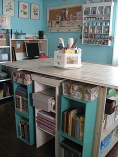 Wish I had a craft room!